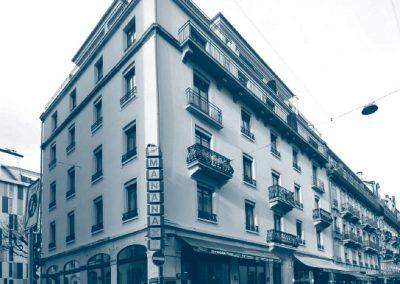 Rue Chaponnière 3 - Genève (Projet 2009 - Réalisation 2011)